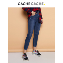 CacheCache wild tight jeans female spring new thin pencil pants fashion feet pants female tide