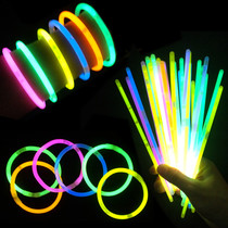 Barrels of about 100 concert fluorescent Rod bracelet flash fluorescent bracelet disposable glow stick glow stick