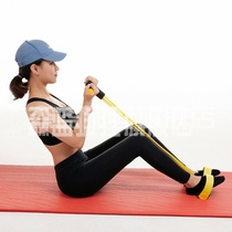 Yoga sit-ups auxiliary fitness equipment home pedal rally thin belly artifact Sports rally rope