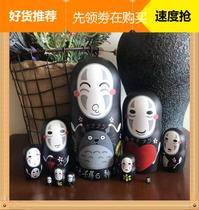 Russian set of 10 layers of faceless mens new products listed manufacturers direct hand-painted gift birch free writing.