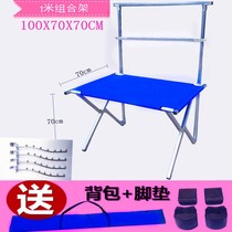 2 meters set the shelf 1.5 meters night market clothing folding stall 1 meter cloth cloth hanger promotion display table.