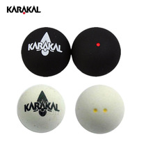 Balle de Squash KARAKAL simple-double Yell double point jaune Tournoi certifié WSF