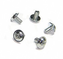 Round head with PAD computer screws suitable for motherboard hard disk bezel optical drive etc.