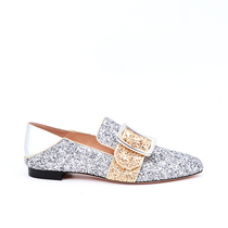 Bally Bally 2019 Printemps et Automne Sequins de mode décorés Silver Ladies Single Slipper S2 WearbyG178059