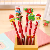 Childrens stationery pencil rubber Christmas gifts kindergarten birthday pupils prizes wholesale learning gifts