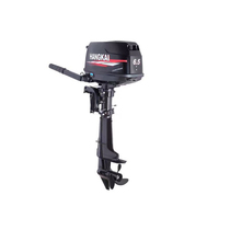 Hang Kai 4 punch 6 5 horsepower outboard outboard marine propeller paddle machine boat motor with external fuel tank