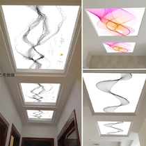 New Art Glass Ceiling ceiling corridor aisle entrance translucent new Chinese modern minimalist light box imagination