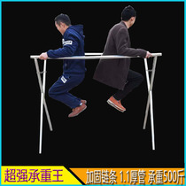 Night market stall shelves clothing display stand selling clothes X-Type shelf folding frame thickened stall hanger