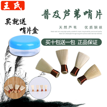 Tianjin Wangs reeds have not been repaired to the shin whistle piece snorna accessories tone all a pack of 4 whistle sons