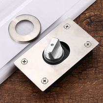Thickened heavy stainless steel 360 degree shaft wooden door up and down hinge door shaft axis Rotary shaft hidden hinge