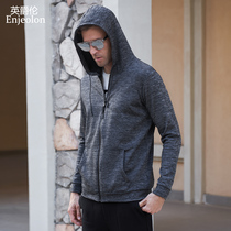 Grand Mercure 2018 new trend handsome hooded cardigan student Wei brand sports jacket smooth and soft