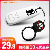 (Official genuine) Taipower U Disk 64g custom logo lettering cute cartoon USB flash drive high-speed students personalized USB flash drive Girls creative encryption authentic computer dual-use mobile U Disk 64G