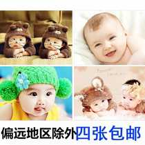 Prepare pregnant doll picture pretty baby wall stickers posters painting kids baby piccads wall stickers portraits pink