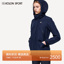 KOLONSPORT kurlong women'S GORE-TEX 2L 3-in-1 fleece interior Gore jacket detachable