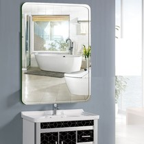 Free-wash basin on the mirror wall-mounted toilet frameless decorative glass wall wall-mounted dresser dressing