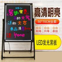 Beauty salon lamp design led double-sided billboard glowword word table repair shop head car with facade painting x40