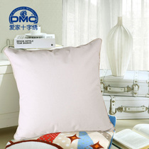 Blank cross-stitch pillow 8 colors optional with rolling edge bag edge blank cushion
