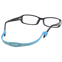 Teon sports glasses fixed with glasses buckle anti-slip sleeve leg hook leg support glasses rope rope basketball strap