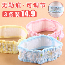 Baby diapers with adjustable artifact diaper buckle belt Meson paper diaper fixed with baby elastic band straps