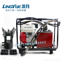 Wire crimping machine double-circuit hydraulic motor-driven pump ground line ultra-high pressure gasoline motor pump steel strand crimping pliers