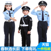 Children police clothes black cat sheriff children police uniforms Children Traffic Police children police Childrens clothing 61
