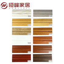 Hengfeng solid wood baseboard logs floor baseboard antique environmental moisture resistance deformation factory direct sales