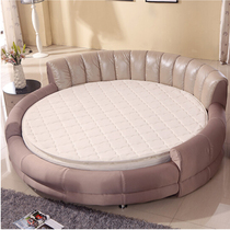Round bed mattress natural environmental Simmons double folding Simmons economy round mattress can be customized size