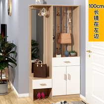 Shoe for shoe stool door Hall Cabinet Cabinet modern simple simple simple door shoe rack hanger one storage cabinet