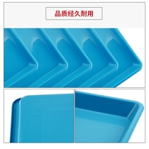 Pet dog cage tray then urine tray then feces extra large plastic thickening large dog general rabbit cage anti-spray urine