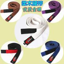 Brazilian jiu-jitsu belt general training Brazilian jiu-jitsu wear belt quality cotton match belt jiu-jitsu jiu-jitsu