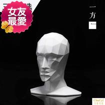 Cut-out head book file board set piece book stand book clip book by office personality study table h face collection process.