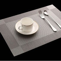 Insulation pad Table Pad Western mat cloth anti-hot pad Bowl mat PVC insulation waterproof placemat home coaster