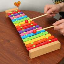 Music hand knock piano boy girl baby children educational music toys 1-3 years old baby eight small xylophone sets