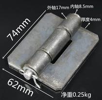 3 inch thick iron sheet welding page gate iron hinge car hinge truck back door page heavy