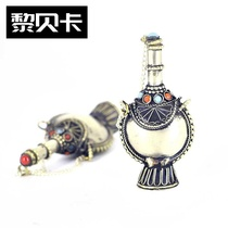 European generation 2019 new Tibetan ethnic products pure snuff pot copper-like imitation ancient goods sent to foreigners