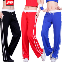 Hao Zhou square dance fitness clothes jumping aerobics aerobics competition clothes multicolor women loose sports pantalons 5210