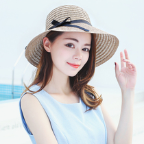 1ffcf23d Hat summer sun sun straw hat female Korean Tide hat summer fashion seaside  travel big hat