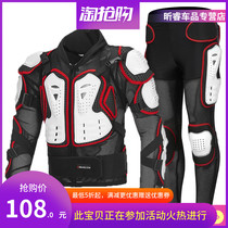 Dubai wheel summer off-road motorcycle racing protective gear full riding anti-drop suit chest armor suit clothes male