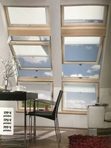 Fakro FAKRO pitched roof windows attic skylights basement lighting windows pitched roof skylights.