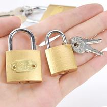 9 9 high-quality padlock imitation copper padlock iron padlock a key to open the N Lock small padlock U-lock