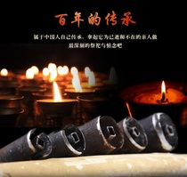 Play Paper Money tools to hold the child gun money tube hit burning paper Ming ritual hanging Nian month to play Paper bronze chisel