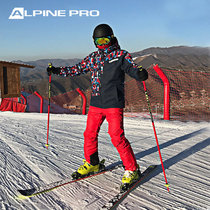 Alpenny AlpinePro Men and Womens Double Winter Single Double Board Windproof Waterproof Warm Ski Suit.