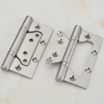 Stainless steel bearing mother hinge door folding wooden door mute loose-leaf hardware accessories hinge hinge 4 inch 2