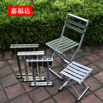 Outdoor folding stool horse tie folding portable fishing chair small stool folding chair portable bench train