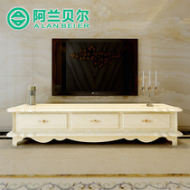 Alain Bell living room simple European-style modern TV cabinet artificial stone Environmental Protection one big cabinet TV cabinet