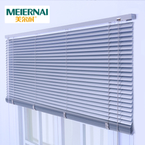 Delta leaf Curtain Roller curtain aluminum alloy waterproof shading Office kitchen bathroom free punching custom