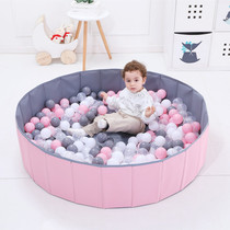 Childrens home ocean ball pool Baby Ball indoor folding fence baby storage basket wave ball game Network red