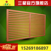Factory direct iron aluminum alloy heating cover custom custom warm cover red Beech radiator decoration home