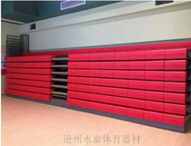 Electric manual telescopic movable grandstand bench bench race Stadium folding seat back low back