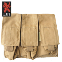 The original product of the United States LBT 9010C triple bag military tactical vest accessory kit Wolf Brown special use